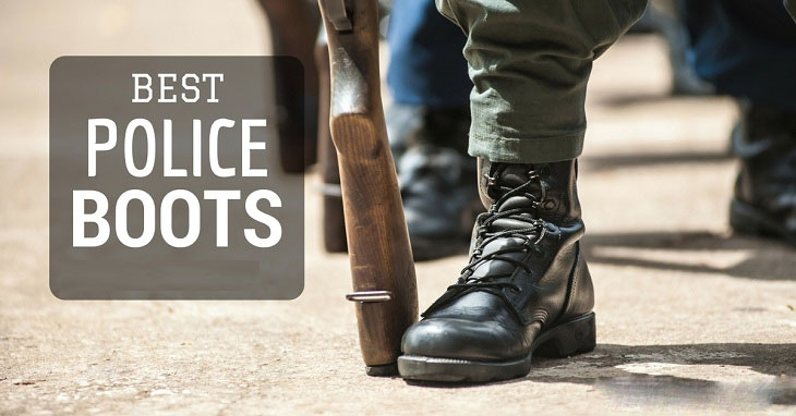 Best Police Boots: Sturdy Yet Comfortable Tactical Shoes for Army Work